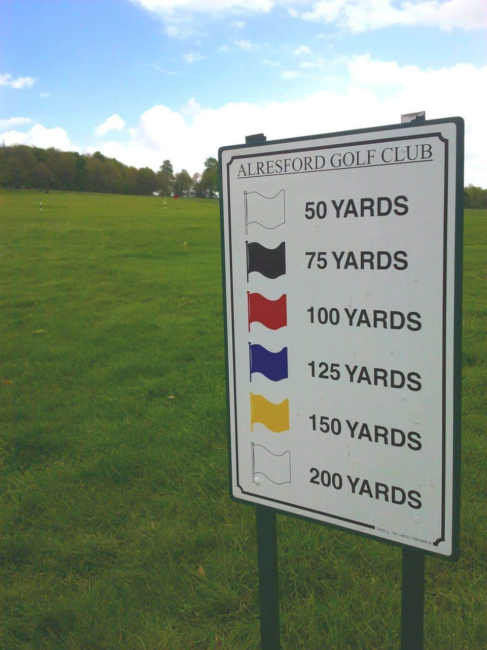 Driving Range Flags