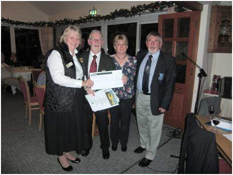 Air Ambulance Cheque Presentation