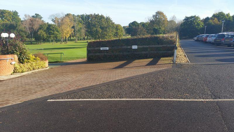 Wheelchair Access Spaces by Clubhouse Entrance