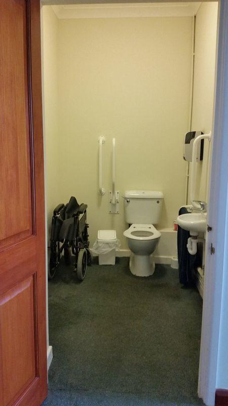 Accessible Toilet in Lobby